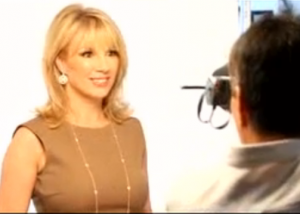 Video shoot of Ramona Singer at CGP Studios