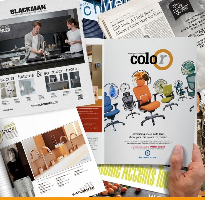 Print Advertising Creative Design