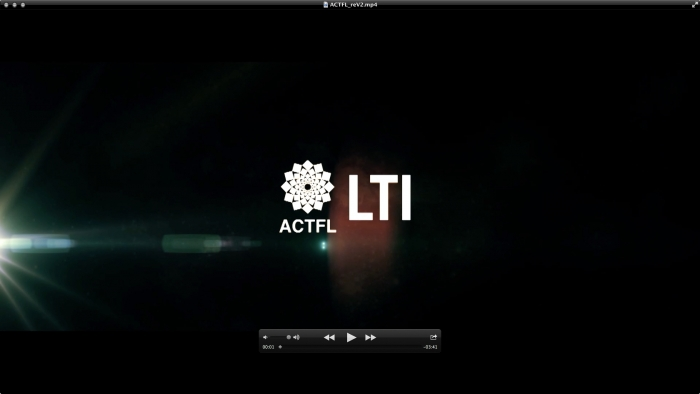 CGP Video LTI-ACTFL Academic Project